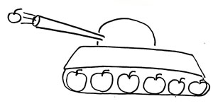 Яблочный танк