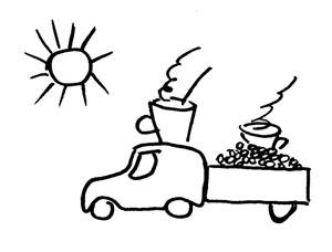 Кофе транспорт