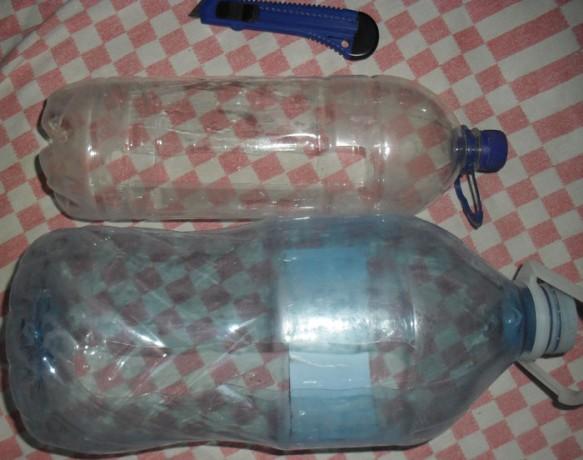 Подготовленные бутылки