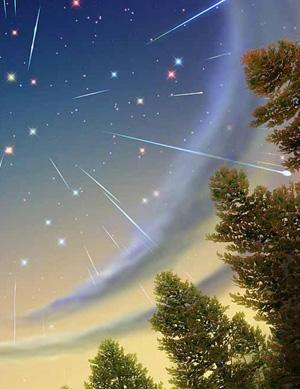 Что такое падающие звёзды?