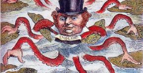 Но вскоре быстро и решительно на европейскую сцену вступает новый гегемон — Англия.