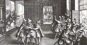 По всей Западной Европе разгораются религиозные войны, ведущиеся с невероятным фанатизмом.