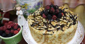 Блинный торт – рецепт с фото пошагово в домашних условиях