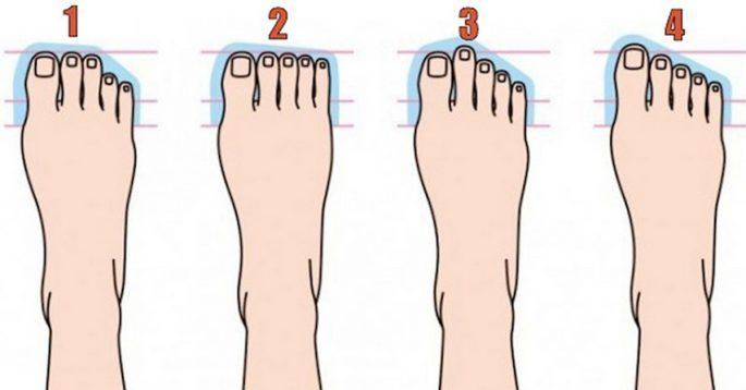 Что говорит о вашей личности ваша форма ноги