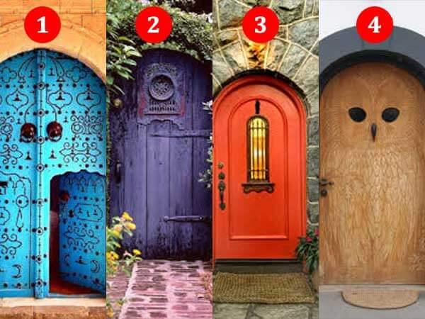 За какой дверью находится счастье? Как вы считаете?