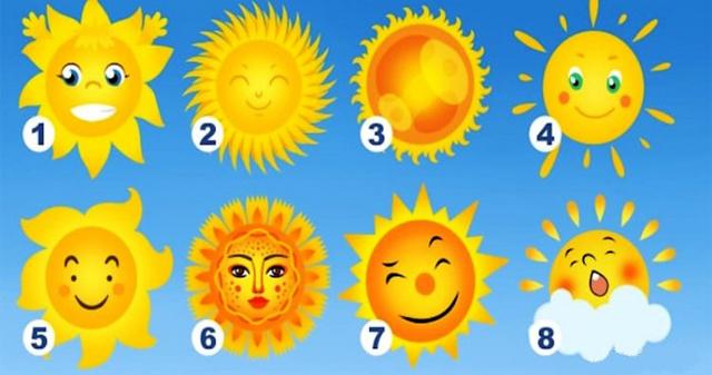 О самых хороших чертах характера расскажет выбранное Солнышко