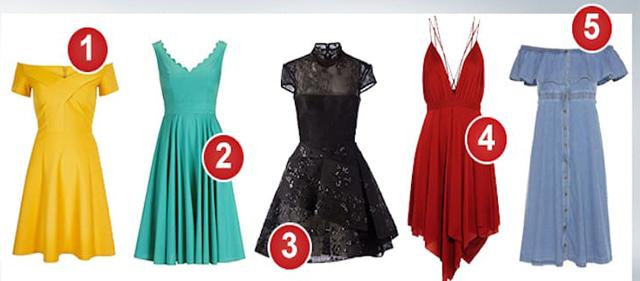 Выбранное платье расскажет какая женщина: загадка, идеальная жена, или искренняя всегда