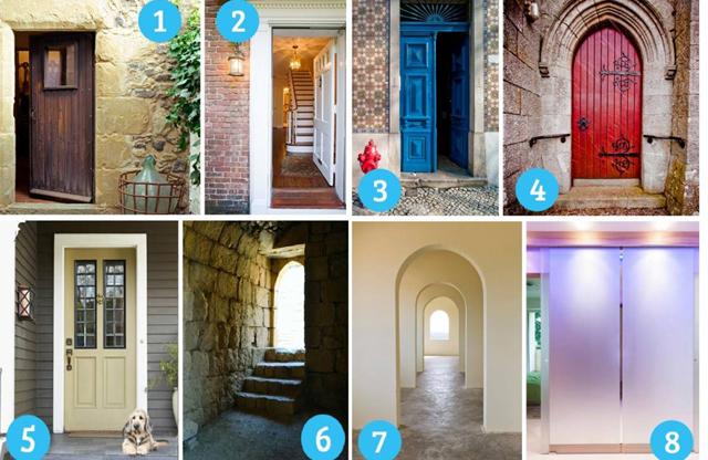 Выбранная дверь проведет к светлым сторонам вашей личности