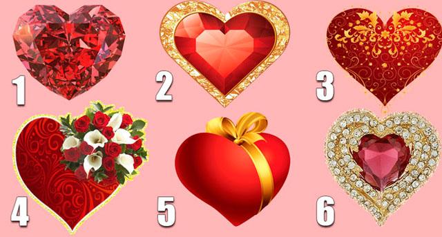 Выбранное сердечко расскажет какой любви вы достойны