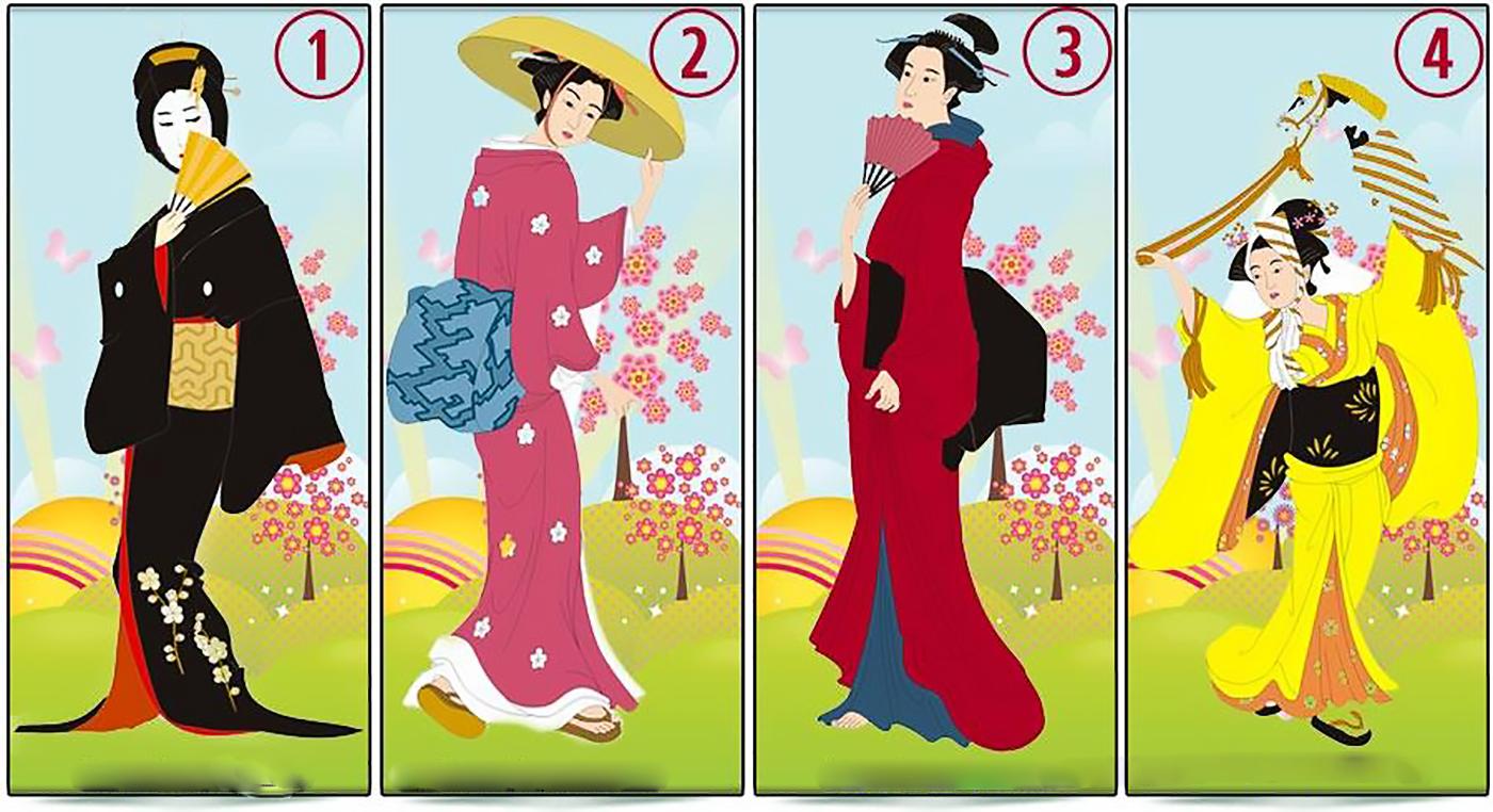 Выберите одну из японских дам, которая по вашему мнению, самая красивая!