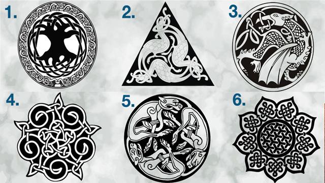 Выбранный мистический Кельтский узел, расскажет о вашей мудрости и внутренней силе