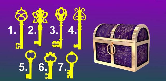 А каким ключом вы бы открыли сундучок?