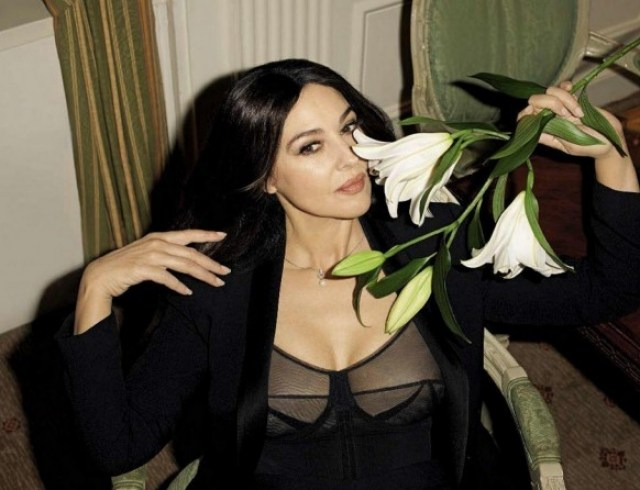 Моника Беллуччи провела выходные с российскими звездами — фото