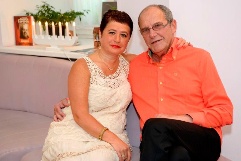 55-летняя жена Виторгана рассказала, почему только сейчас стала мамой