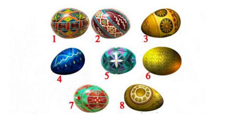 Получите предсказание на Пасху! Какое пасхальное яйцо выберите Вы?