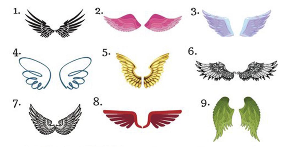 Какие крылья Ангела примерите Вы? Просто выберите одну пару крыльев и узнайте…
