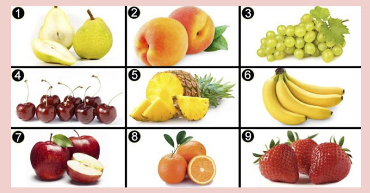 А Вы соскучились по свежим фруктам? Выберите фрукт, который хотите больше всего…