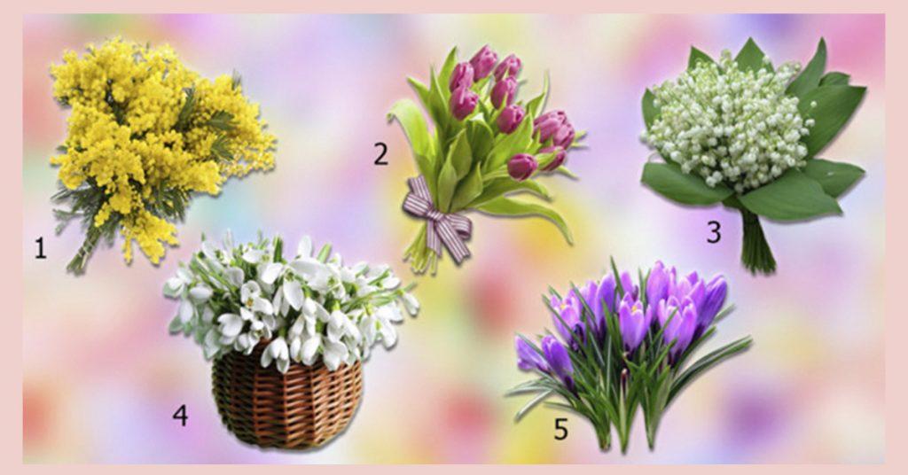 Выбранный весенний цветок, расскажет какие радости Вас ждут! Невероятная точность!