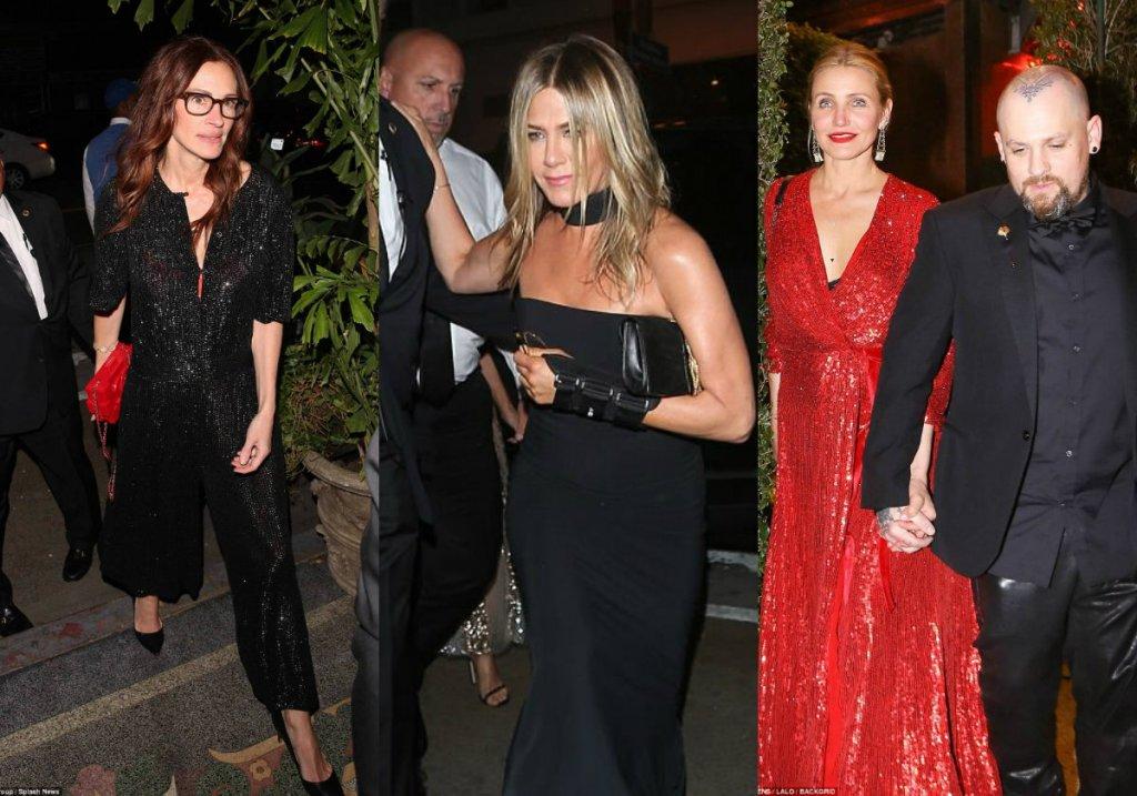 Тайная свадьба в Голливуде? Десятки звезд приехали к известной актрисе — фото