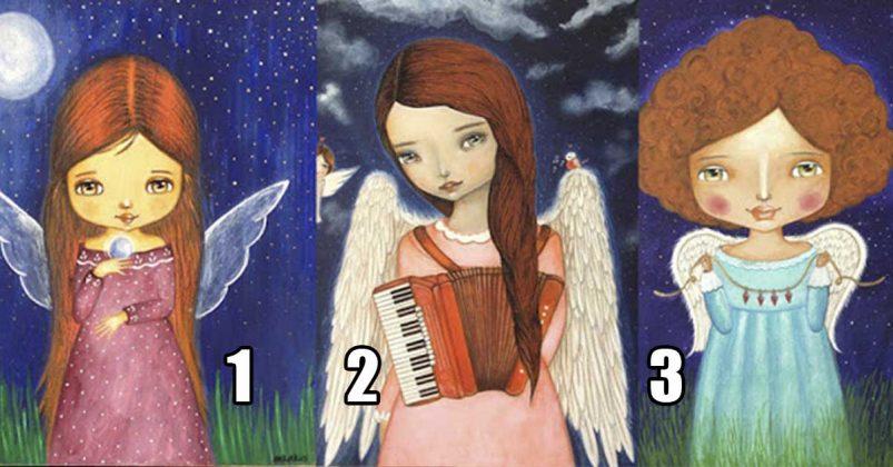 Сложная ситуация в жизни? Возьми совет у Ангелочка! Просто выбери…