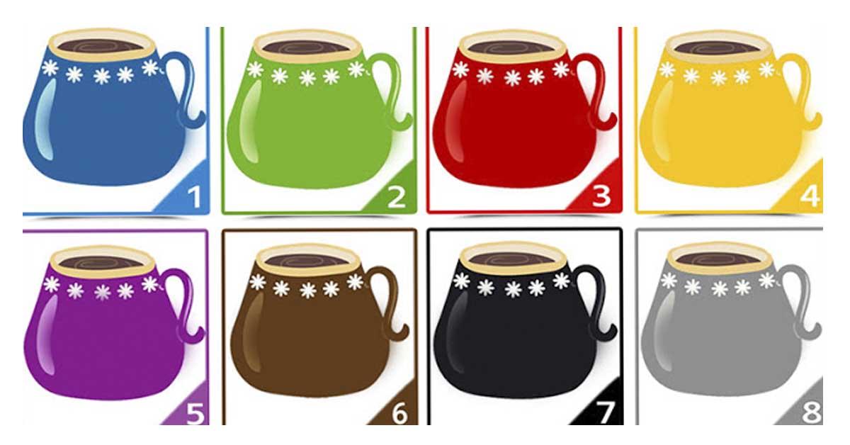 Ну что, выпьем чайку? Какую чашку выберите Вы? То, что это значит удивит…