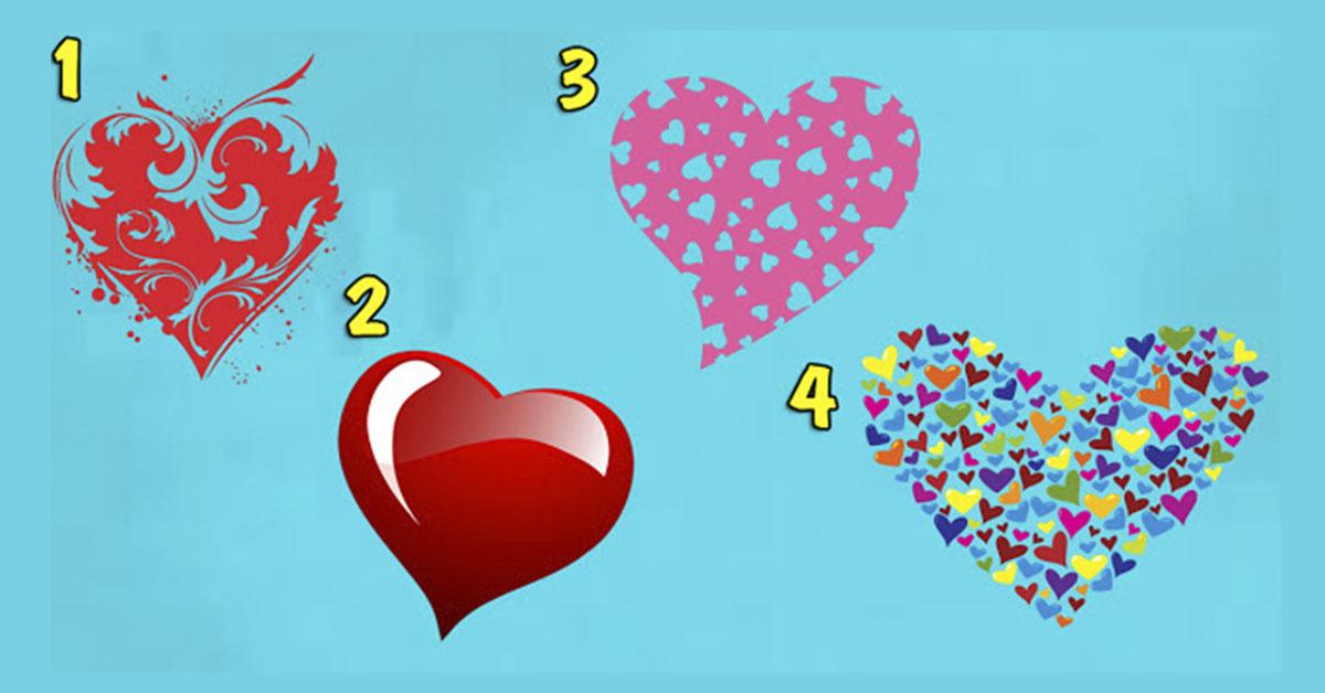 Хотите узнать, какие Вы в любви? Скорее выберите свое сердце и смотрите…