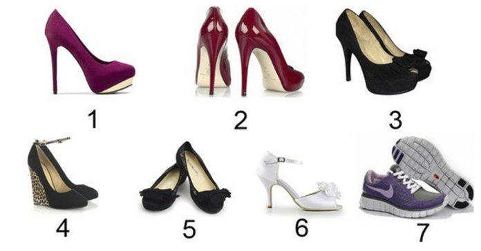 Какую обувь Вы бы надели весной? Узнайте какая Вы женщина…