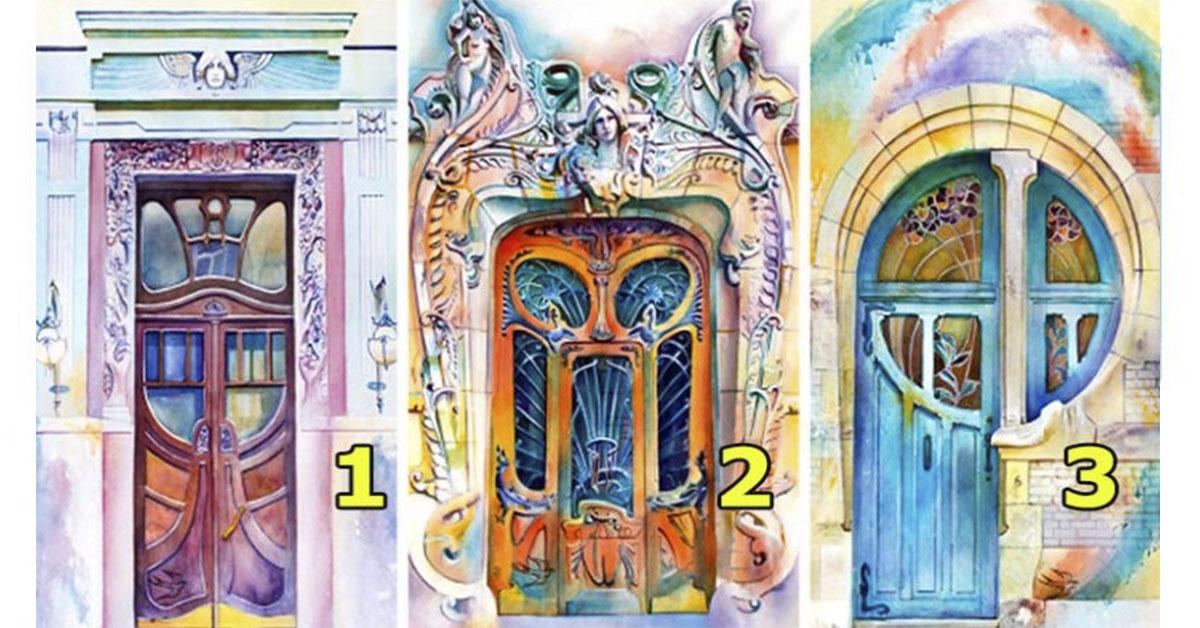 Выберите ангельскую дверь, чтобы узнать какие возможности появятся у Вас весной!