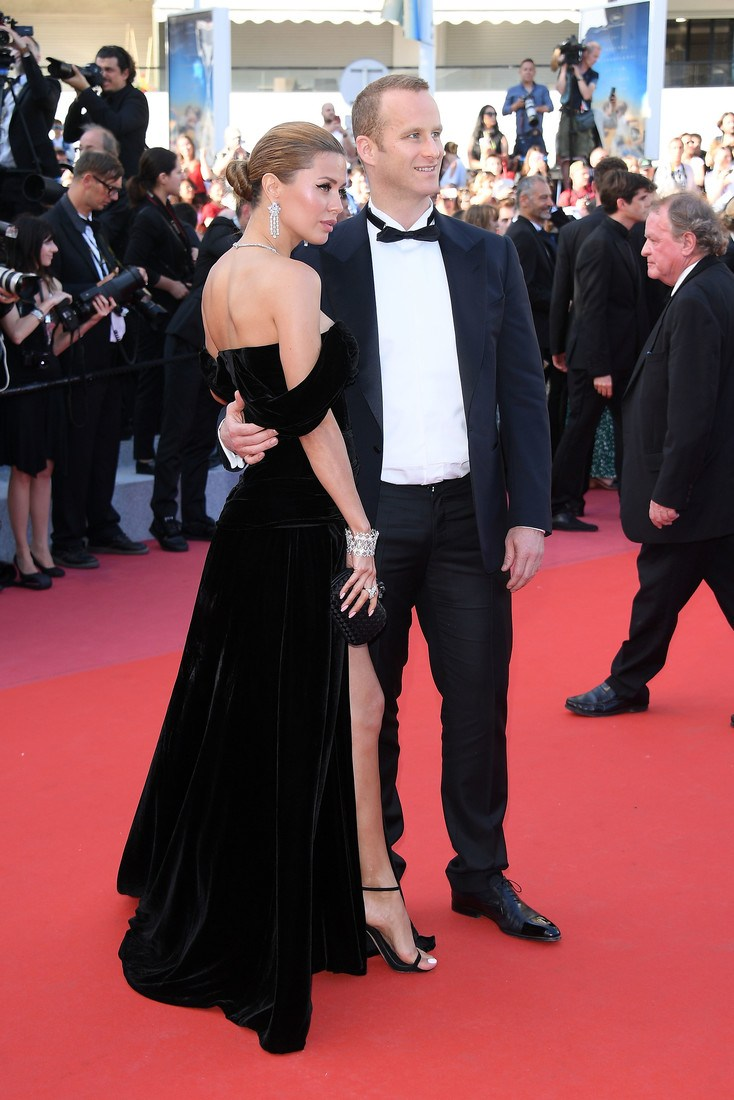 "CANNES, FRANCE - MAY 12: Victoria Bonya and Pierre Andurand attend the screening of ""Girls Of The Sun (Les Filles Du Soleil)"" during the 71st annual Cannes Film Festival at Palais des Festivals on May 12, 2018 in Cannes, France.  (Photo by Venturelli/WireImage)"