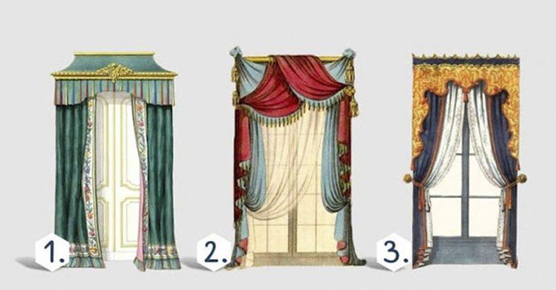 А какие шторы выберите Вы? Ваш ответ раскроет кое-что интересное…