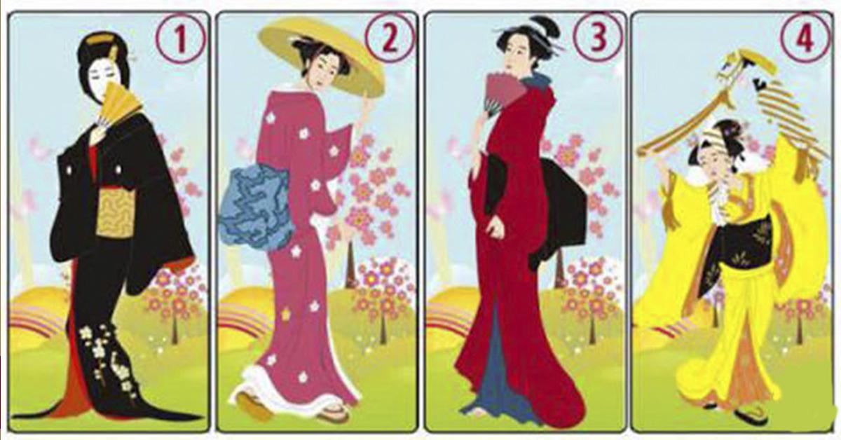 Выберите одну из японских дам и узнаете, какая у Вас женственность!