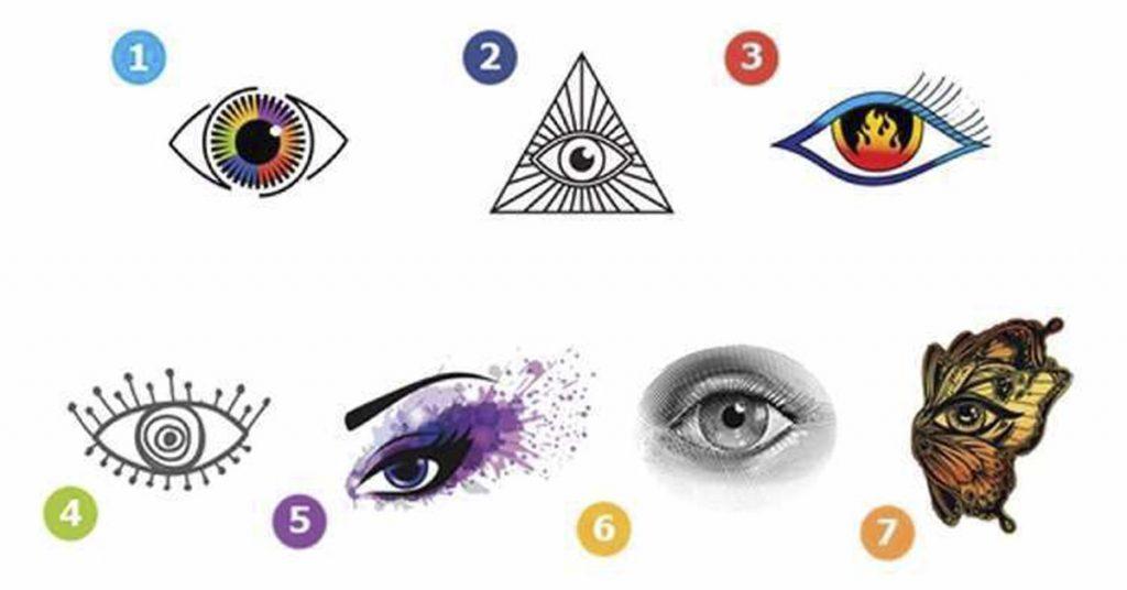 Говорят, глаза — зеркало души! Так ли это? Выберите глаз и мы расскажем о Вас кое-что…