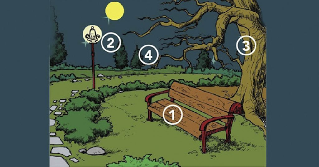Вы пришли в парк! В каком месте Вы бы посидели? Невероятно!