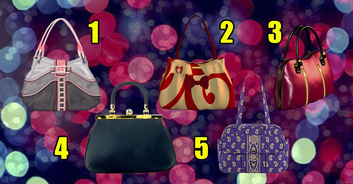 Смотрите, какие сумочки! Выберите одну и узнайте, кое-что интересное!