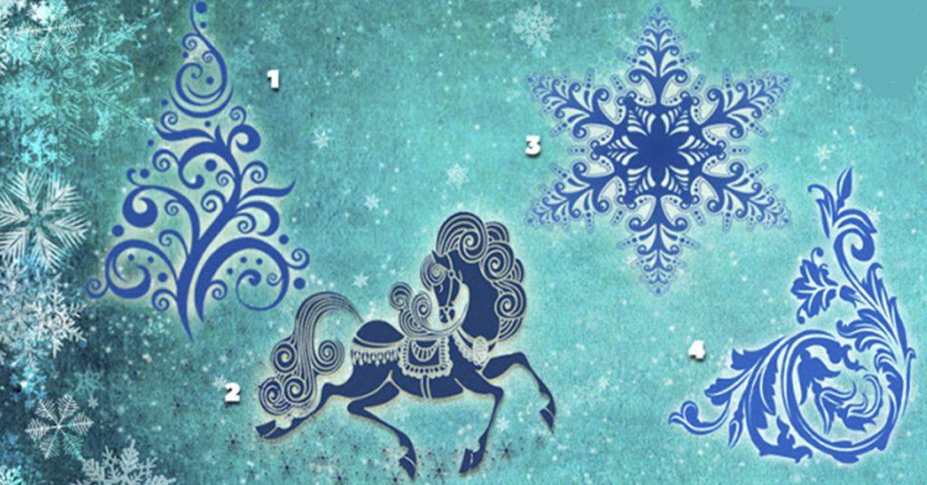 А Вы пройдете волшебное гадание Снежной королевы? Результат Вас точно удивит!