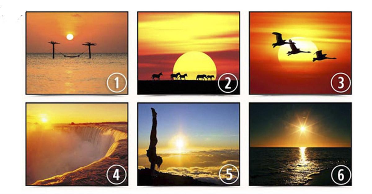 Вы только посмотрите, какие красивые закаты! А какой выберите Вы?