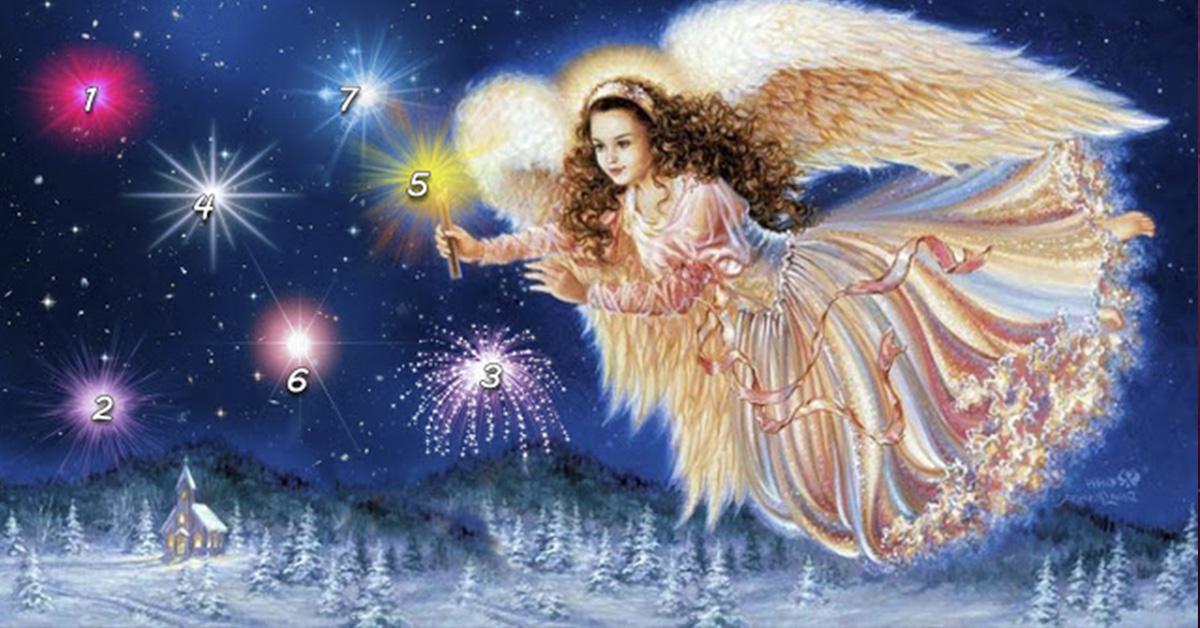 Этот ангел принёс дары каждому человеку! Что же досталось именно Вам?