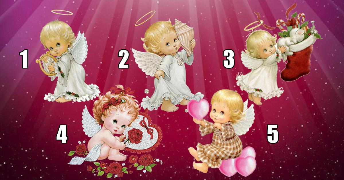 Невероятный тест души! Выберите Ангелочка и получите свой подарок для души!