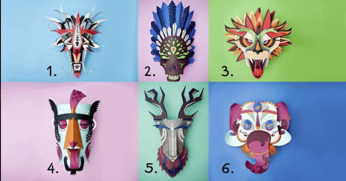 Удивительный тест! Выберите маску и узнаете, что для Вас самое главное в жизни…