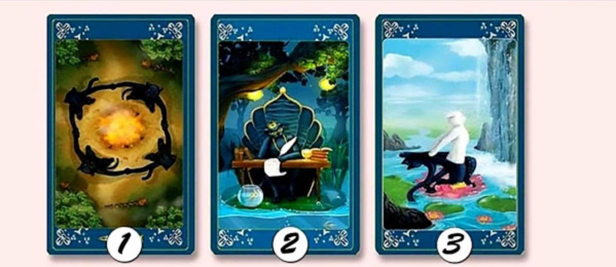 Выбрав одну из карт, Вы получите своё волшебное предсказание!