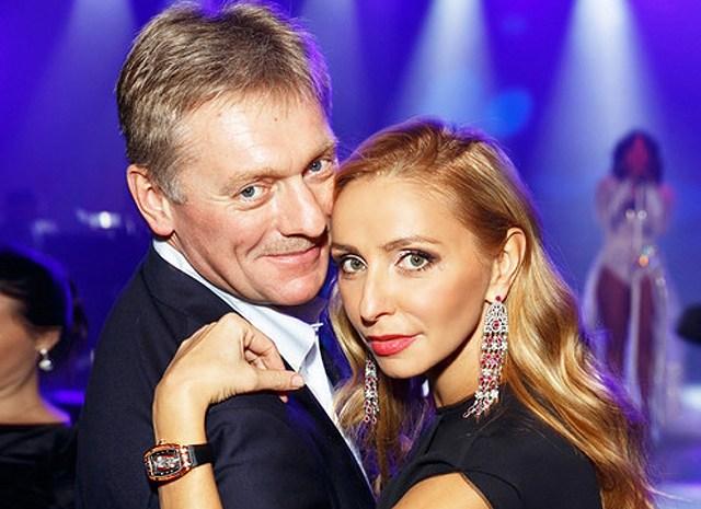Татьяна Навка вошла в топ самых богатых жен чиновников, заработав в 14 раз больше мужа