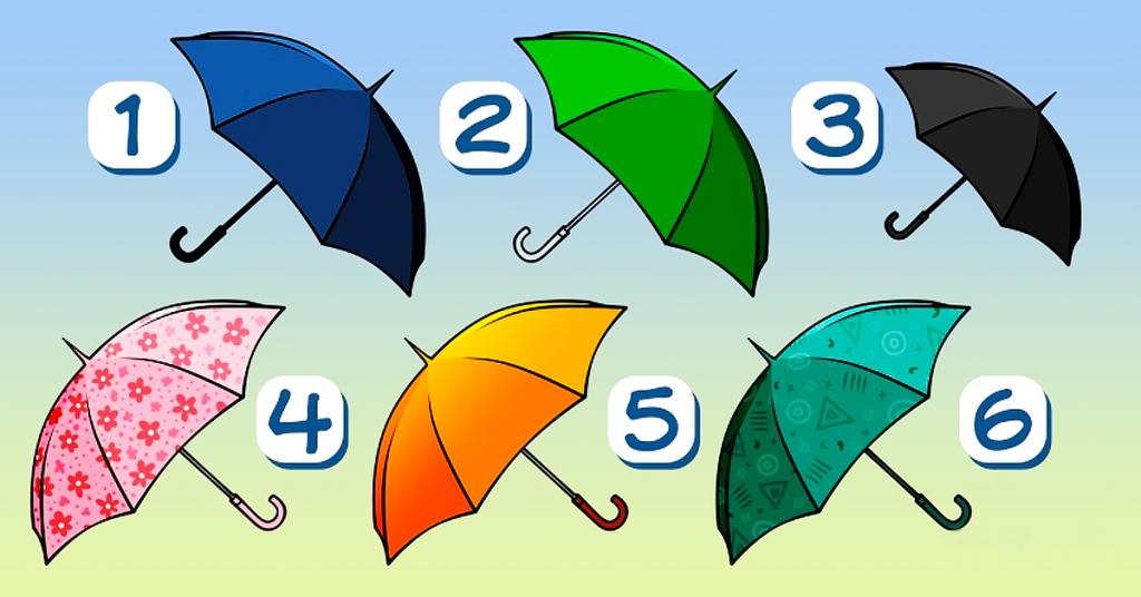 Приходят дожди! Какой зонтик Вы возьмете? Результаты Вас точно удивят!