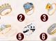 Тест: Выберите кольцо и узнайте, какая вы женщина!