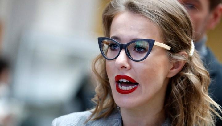 Ксения Собчак вызвала недоумение и возмущение голым ФОТО